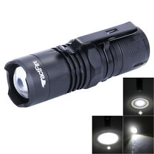 Zoomable 4-Modes XML T6 LED 16340 Flashlight Torch Lamp Outdoor Super Light