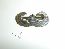 b0339 US WW 2 Army Metal Glider Wings Parachute Infantry Regiment PIR A8A13