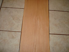 New listing One Vintage Red Oak Veneer 12'' X 120'' 1/20'' Thick Over 40 Years Old Nos
