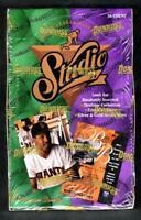 STUDIO 1994 Baseball Card Box by Leaf 36 Packs Factory Sealed - #Mtl#Rk #4L_#2L
