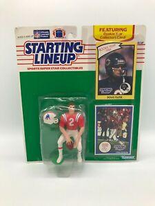 STARTING LINEUP SLU NFL FOOTBALL NEW ENGLAND PATRIOTS DOUG FLUTIE FIGURE 1990