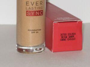 ORIFLAME SWEDEN THE ONE EVERLASTING SYNC FOUND SPF 30 -# GOLDEN BEIGE 30 ml NEW!