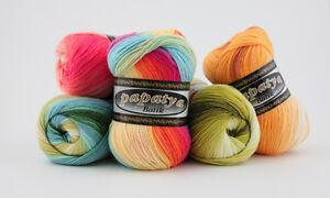 100g Papatya Batik - mit tollem Farbverlauf ! NEU (Grundpreis 2,99€/100g)