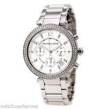 Michael Kors MK5353 Women's Parker Chronograph Steel Stop Watch