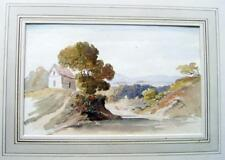 MALVERN  COTTAGE ON HILL NEAR MALVERN JOHN VARLEY JNR (ATTRIB) W/COL C1880