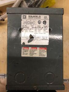 Dry Sealed Transformer, 1 Phase, 1kVA, 120/240V