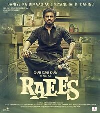 RAEES (2017) SHAHRUKH KHAN, NAWAZUDDIN SIDDIQUI - BOLLYWOOD HINDI DVD