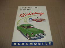 1948 Oldsmobile Whirlaway Hydra-Matic Drive Brochure