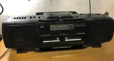 JVC BOOMBOX GHETTOBLASTER Cd Player Tape Cassette Works But Doesn't FF Or RW