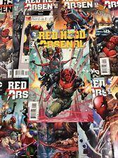 RED HOOD ARSENAL #1 -13 Comic Book LOT FULL SERIES JASON TODD ROY HARPER TEAM UP