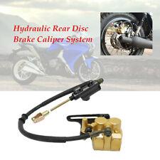 Motorcycle Bike Trail  Hydraulic Rear Disc Brake Caliper w/Cylinder Brake System