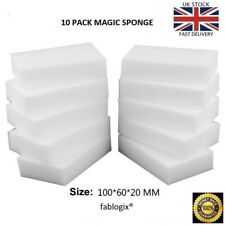 Magic Sponge eraser sponges  x 10  Melamine Foam Stain Dirt Remover fablogix®