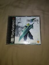 FINAL FANTASY VII 7 (Sony PlayStation 1 PS1, 1997) Black Label Game Complete CIB