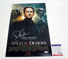 Dan Brown Author Signed Autograph Angels & Demons Movie Poster PSA/DNA COA #2