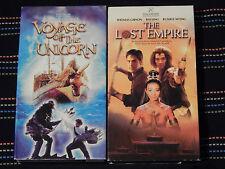 Voyage of the Unicorn + The Lost Empire + ...Leprechauns (VHS) HALLMARK - LOT)