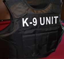 UNIT TAGS // 3A SIZE Medium Body Armor Bullet Proof / Stab Proof Vest  NEW!!!