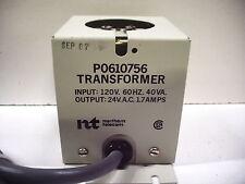 NORTHERN TELECOM P0610756 40VA 24VAC 1.7A TRANSFORMER
