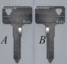 Replacement Key Blank Fits 1987 1988 1989 1990 Kawasaki Vulcan 500 800 1500