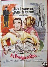 FORTUNE COOKIE WILDER LEMMON film poster Spain 66 RARE