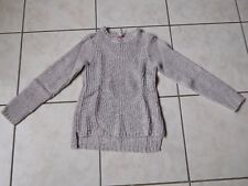 JOLI PULL MANCHES LONGUES FILLE TAILLE 10ANS ORCHESTRA TBE