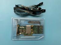 Supermicro AOC-SAS2LP-H8IR SAS RAID Controller PCIe Card  8087 SATA Cable
