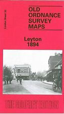 Old Ordnance Survey Map Leyton 1894