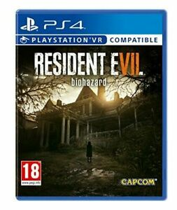 Resident Evil 7 Biohazard (Playstation 4 PS4) Great Condition