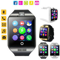 Wireless Bluetooth Smartwatch with Camera TF/SIM Card Slot for Android Samsung