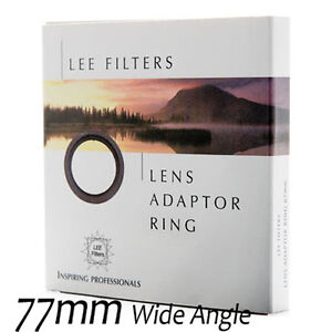 NEW Lee Filter Ultra Wide Angle Adapter Ring Adaptor for Foundation Kit 77mm