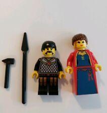 Lego Minifigure Mini Castle Maiden & Blacksmith II 3739