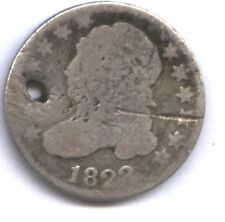 1823 BUST DIME * AG+ * HOLE * TOUGH DATE TYPE COIN * NEAT & AFFORDABLE !!