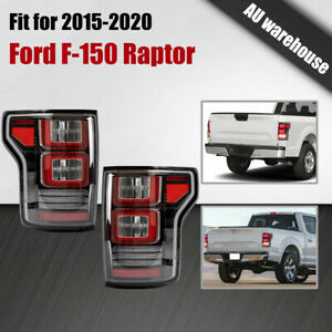 LED Tail Lights Sequential Indicators For 2015-2020 Ford F-150 F150 SVT Raptor
