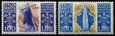 Lot N°6445 Italie Poste Aérienne N°129/130 Neuf ** LUXE