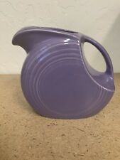 Fiesta Ware Lilac Pitcher Retired Limited Addtion