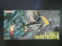 Focke Wulf Fw - 190, A - 8, Dragon, Scale:1/48, Kit:5524, Super Bausatz