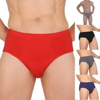 Men Bamboo Fiber Briefs Shorts Ventilate Underwear Everyday Shorts Underwear #@