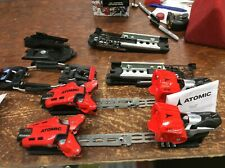 Atomic X16 Ski Race Bindings Red/black