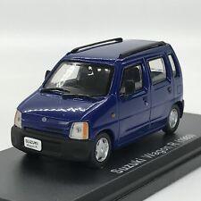 Mini Car Suzuki Wagon R 1993 Blue 1/43 Scale Box Display Diecast Vol 171