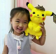 """2019 Official Pokemon Detective Pikachu Plush Doll Stuffed Toy Movie Gift 10"""""""