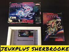 Super R-Type (Super Nintendo Entertainment System, 1991) (COMPLETE IN BOX)