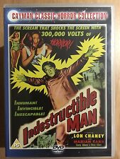 Lon Chaney Jr INDESTRUCTIBLE MAN ~ 1956 Classic Fantasy Film | UK DVD