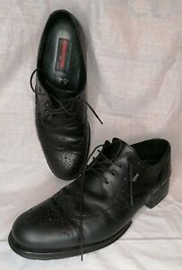 SANDRO BY LLOYD - LEATHER GORTEX BROGUES - UK SIZE 11  German made.