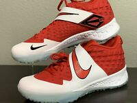 NEW ⚾️ Mike Trout x Nike Force Zoom Trout 6 Turf Trainers 👟 Red Baseball SZ 10