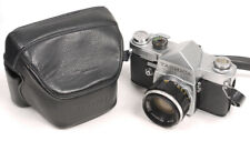 Yashica Penta J w/5cm F2 Auto-Yashinon Lens - M42 - Looks/Works Great