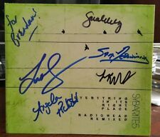**SIGNED** SYBARITE5 - Everything In It's Right Place (CD) *RARE* Radiohead