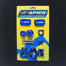 Apico Bling Pack BLUE Blocks Caps Clamp Covers KTM 250 300 EXC 14-18
