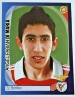 Panini Champions League 2007/08 Angel Di Maria BENFICA ROOKIE  Sticker MINT