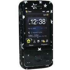 Amzer Stars Black Snap On Hard Case For Htc Touch Pro