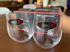 Riedel O  Chardonnay/ Viognier Wine Tumblers, Set of 2 Crystal Lead Free
