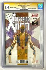 WOLVERINE AND THE X-MEN #1 ST. LOUIS LE VARIANT CGC SS 9.4 SIGNED DAVID MACK